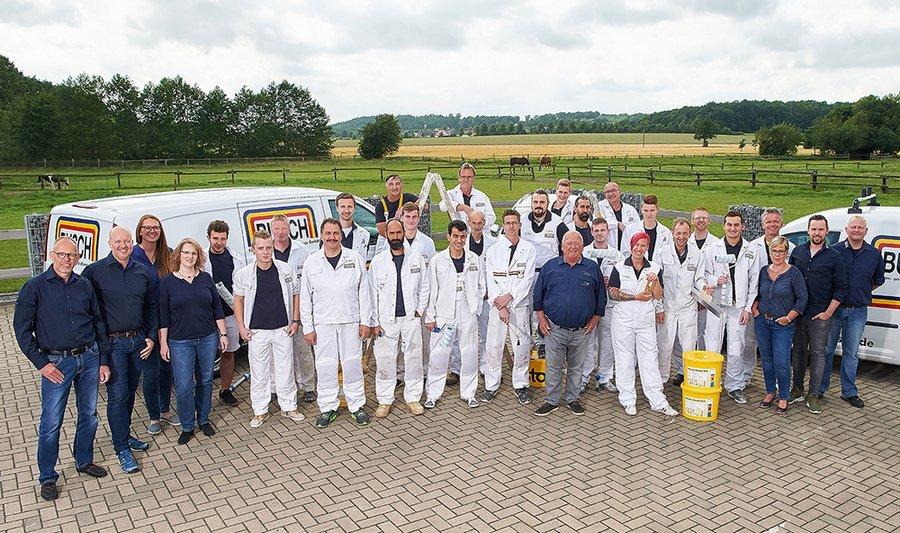 Das Team von Malerbetrieb Busch